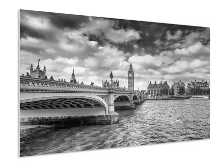XXL Stoffbild Westminster Bridge
